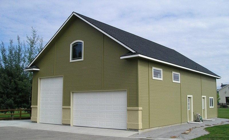 Outdoor shops and garages stor mor sheds idaho for Motorhome garage kits