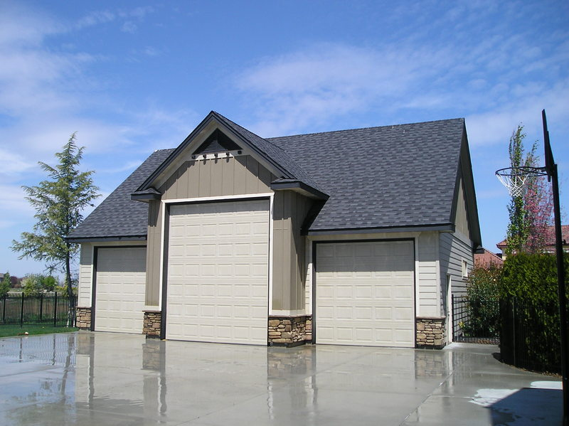 Outdoor shops and garages stor mor sheds idaho for 3 bay shed