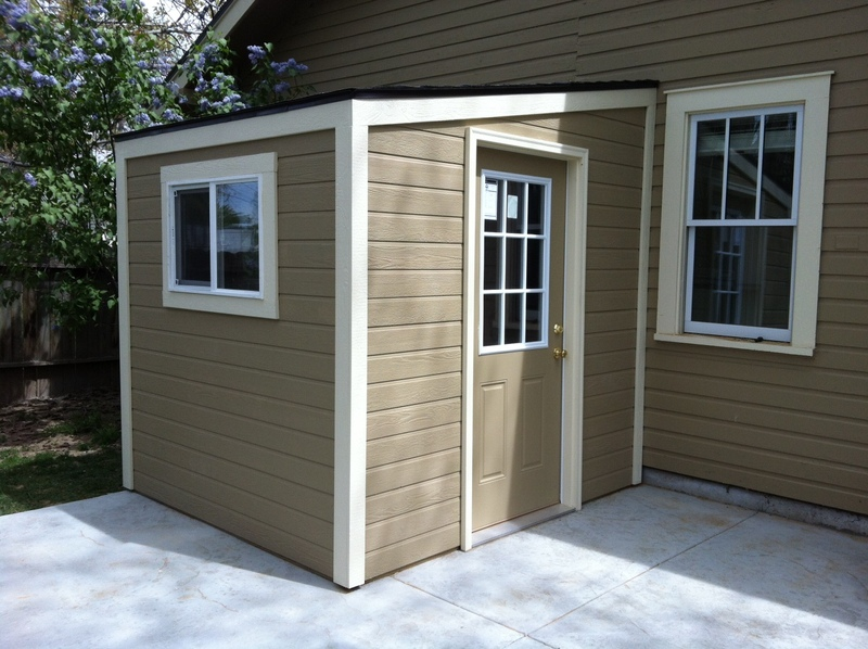 Storage Shed Lean To With Single Slope Roof Stor Mor Sheds