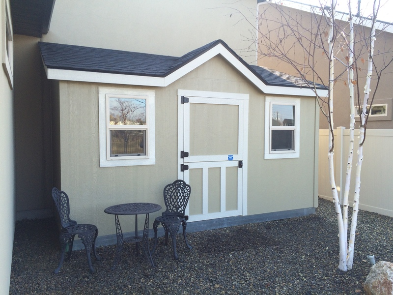 Storage Shed Lean To with Single Slope Roof - Stor-Mor Sheds