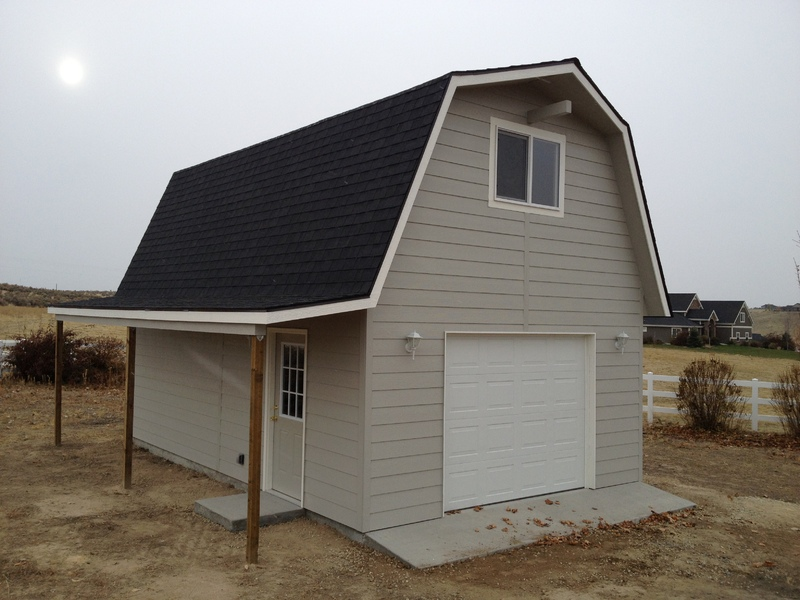 16x24 Storage Building : Tall barn storage shed stor mor sheds idaho